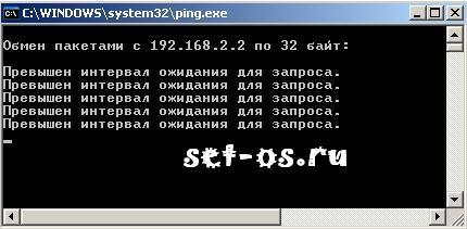 ping ip 192.168.2.2