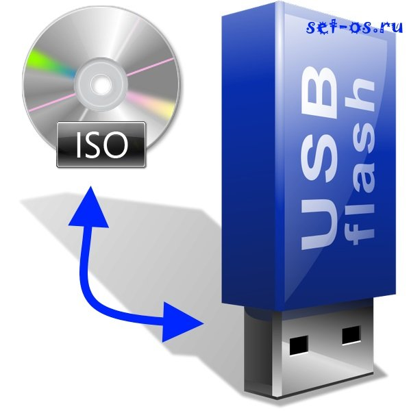 запись iso на usb-флешку