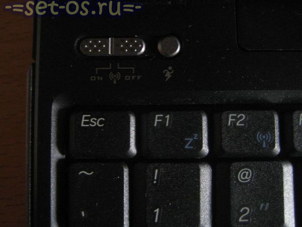 какая кнопка включает wifi на ноутбуке