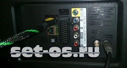 lan разъём порт на телевизоре lg самсунг