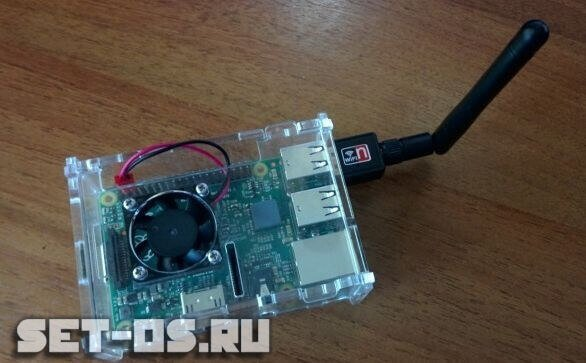 настройка WiFi на Raspberry Pi