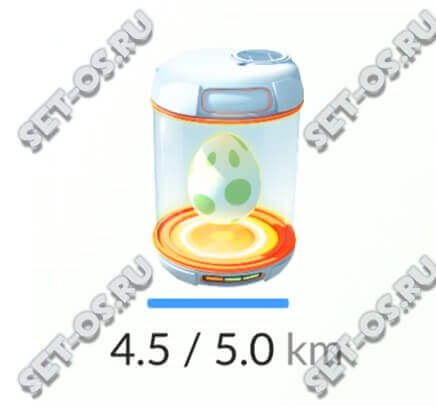 как поместить яйцо в инкубатор pokemon go
