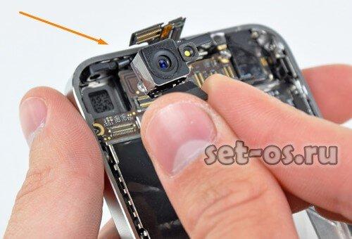 не работает вспышка на айфоне