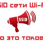 Имя сети SSID в WiFi - что это такое и где его найти