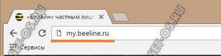my beeline ru лк