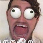 Как пользоваться эффектами Snapchat с лицом