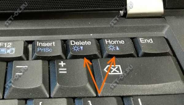 реглировка яркости ноутбука