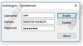 автологин windows 10