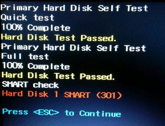 что такое smart self test в биосе
