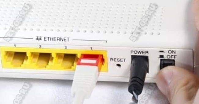 перезагрузка wifi роутера