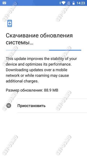 обновление android 8.1.0 go edition