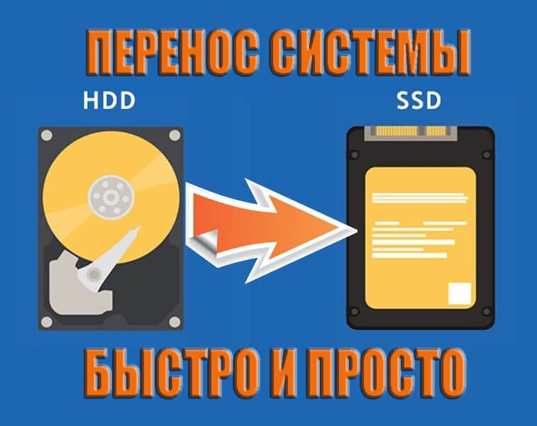 как перенести с hdd на ssd windows 10